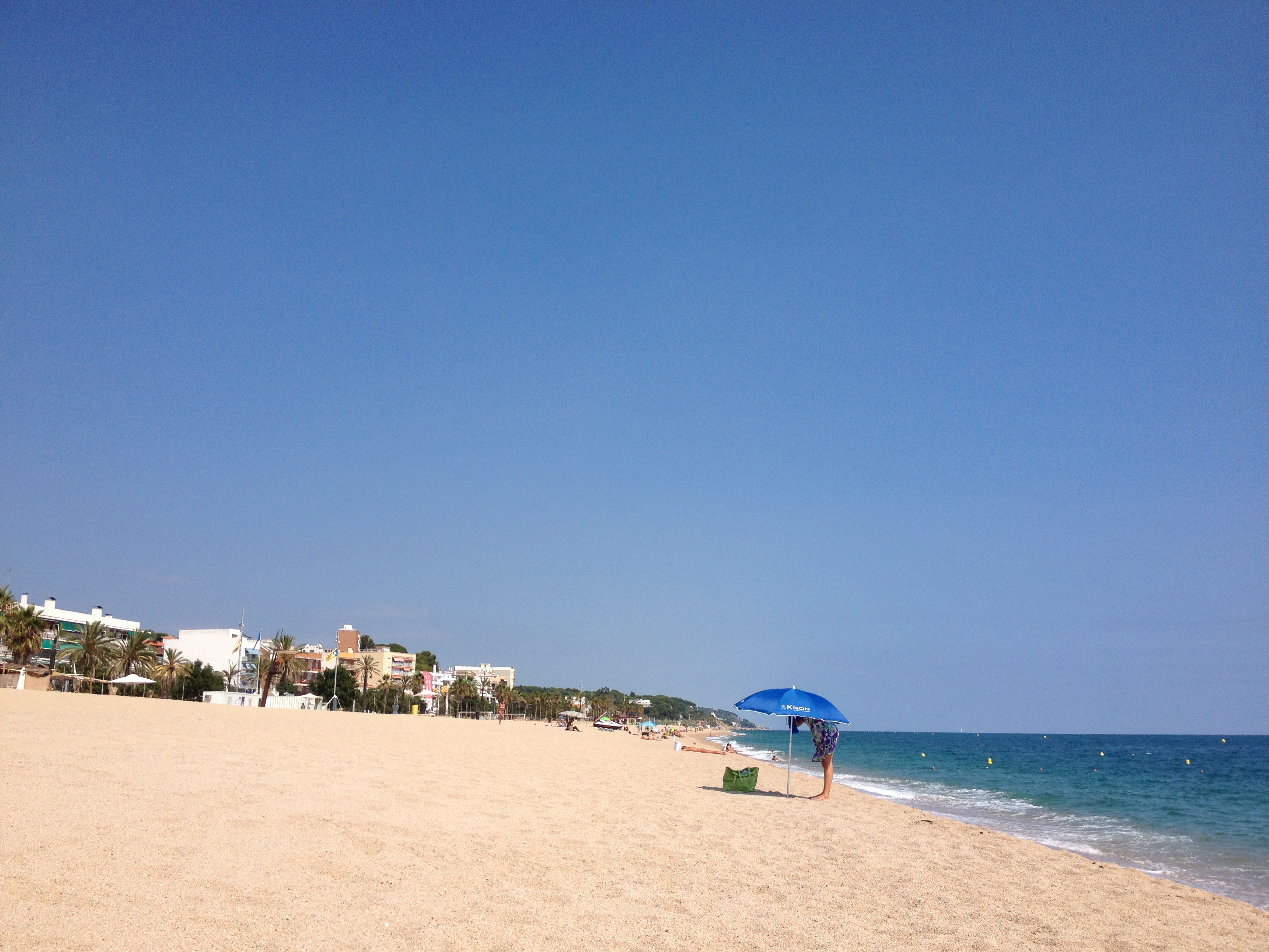 Canet de Mar: breed en mooi strand